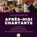APRES-MIDI CHANTANTE DU MEJ LIEGE @ Chapelle de l'Espace Loyola